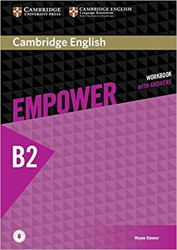 Cambridge English Empower Upper-Intermediate Workbook with Answers with Audio CD tims n face2face upper intermediate workbook with key