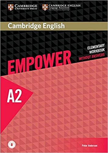 Cambridge English: Empower: Elementary Workbook without Answers: Level A2 cambridge english empower a2 workbook with answers