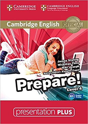 Cambridge English Prepare! Level 4: Presentation (+ DVD-ROM) cambridge plays the pyjama party elt edition cambridge storybooks