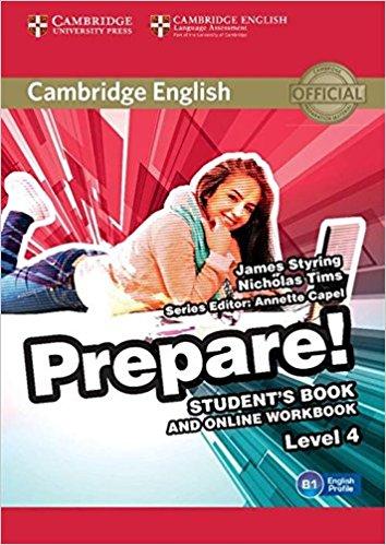 Cambridge English Prepare! Level 4: Student's Book cambridge plays the pyjama party elt edition cambridge storybooks