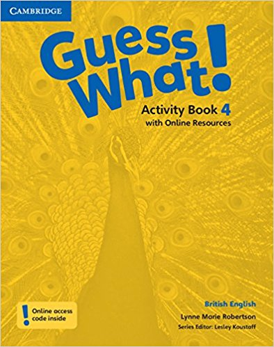 Guess What! 4 AB with Online resource longman young children s picture dictionary activity resource book