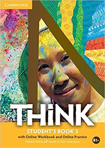 Think British English 3 Student's Book with Online Workbook with Online practice think 5 student s book with online workbook and online practice