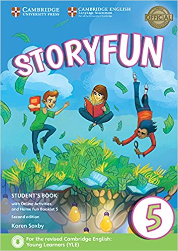 Storyfun 5: Student's Book with Online Activities with Home Fun booklet cambridge plays the pyjama party elt edition cambridge storybooks