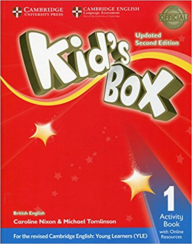 Kid's Box: Level 1: Activity Book cambridge global english 3 activity book