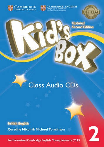 Kid's Box: Level 2 (Class Audio 4 CDs) gordon lewis the internet and young learners