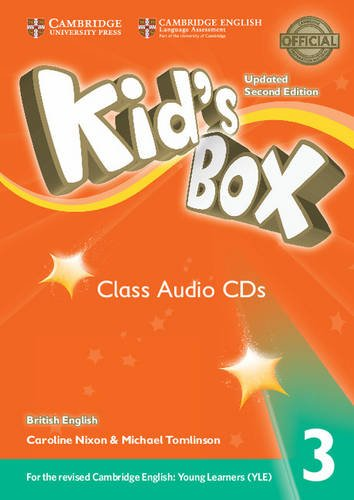 цена на Kid's Box Updated 2 Edition Audio CD 3