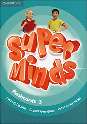 Super Minds: Level 3: Flashcards (Pack of 83) giraffe and the pelly and me level 3