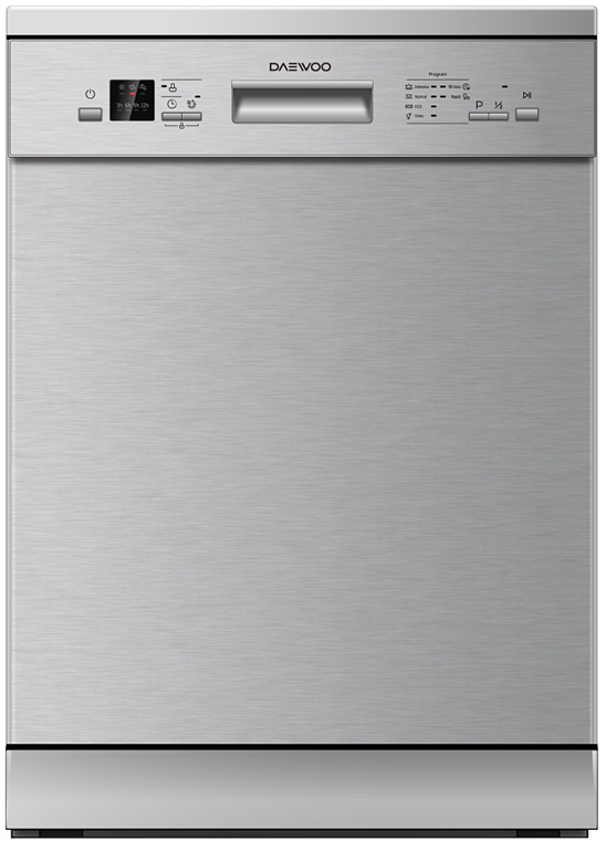 Посудомоечная машина Daewoo DDW-M1411S, серебристый цена и фото