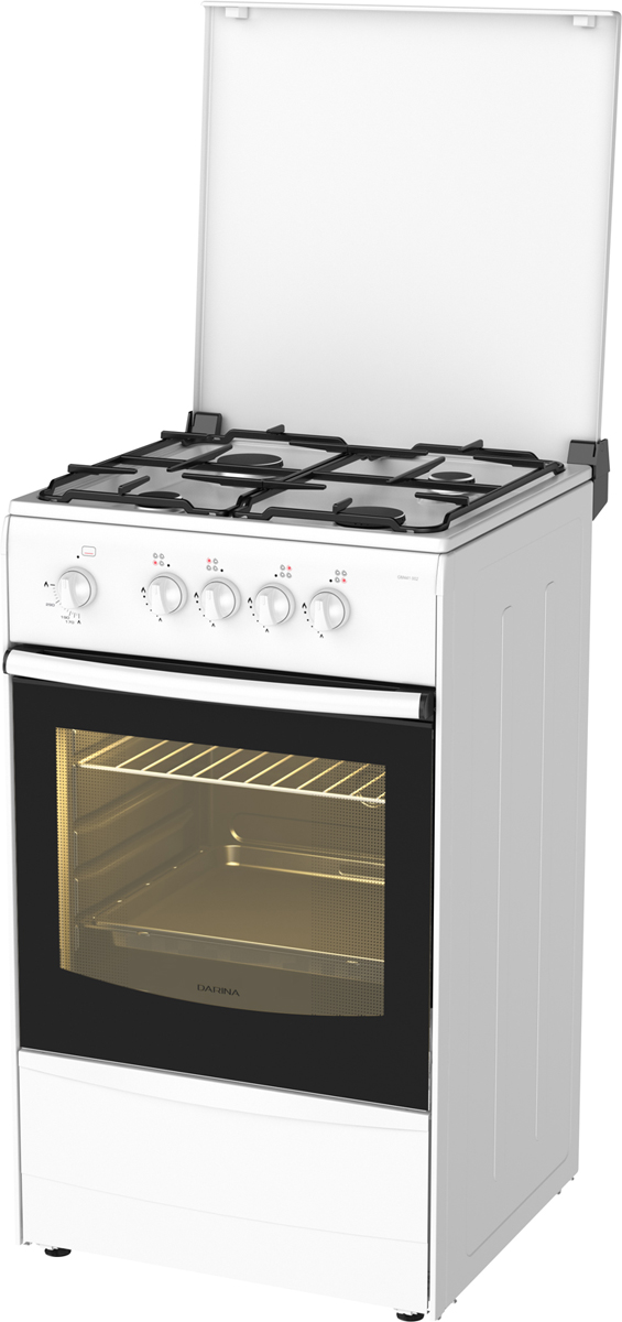 Darina 1A GM441 007 W плита газовая газовая плита дарина s gm441 001 w