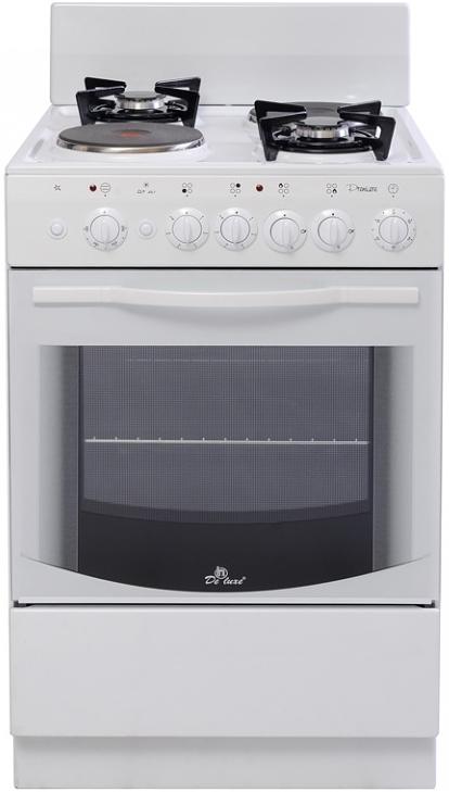 De luxe 5422.01гэ (щ) плита комбинированная
