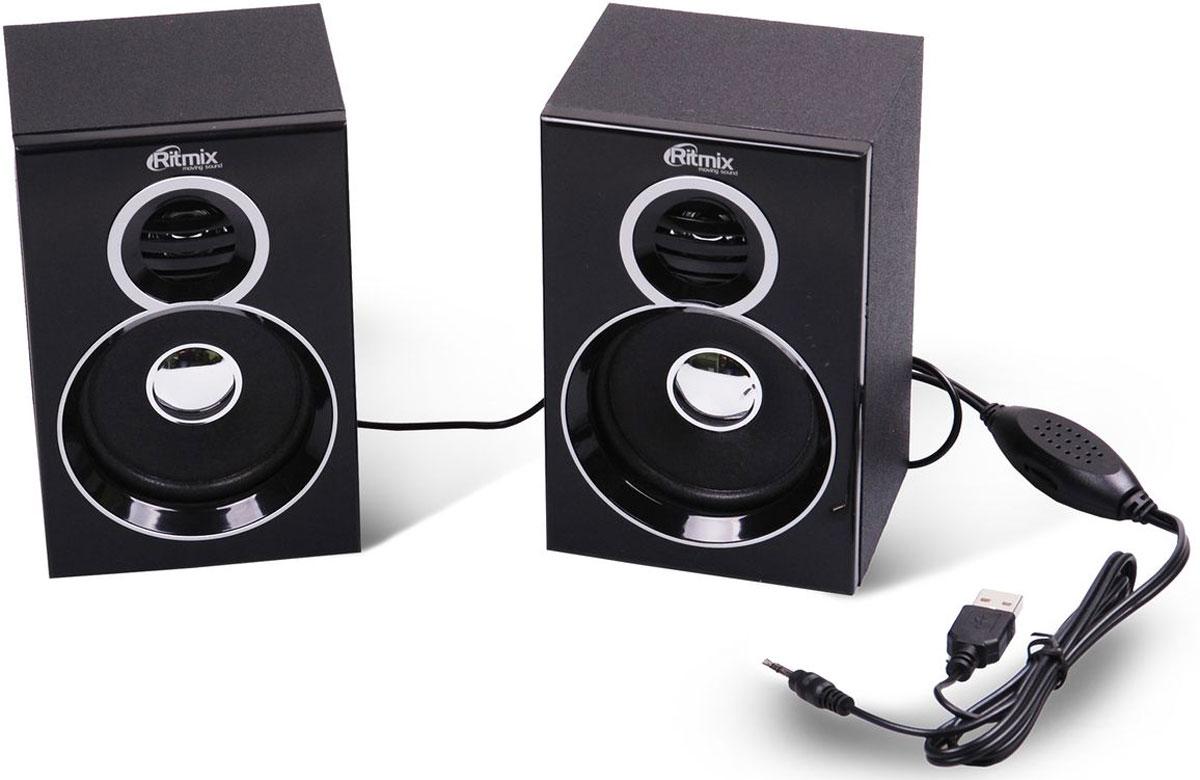 Компьютерная акустика Ritmix SP-2013w, Black