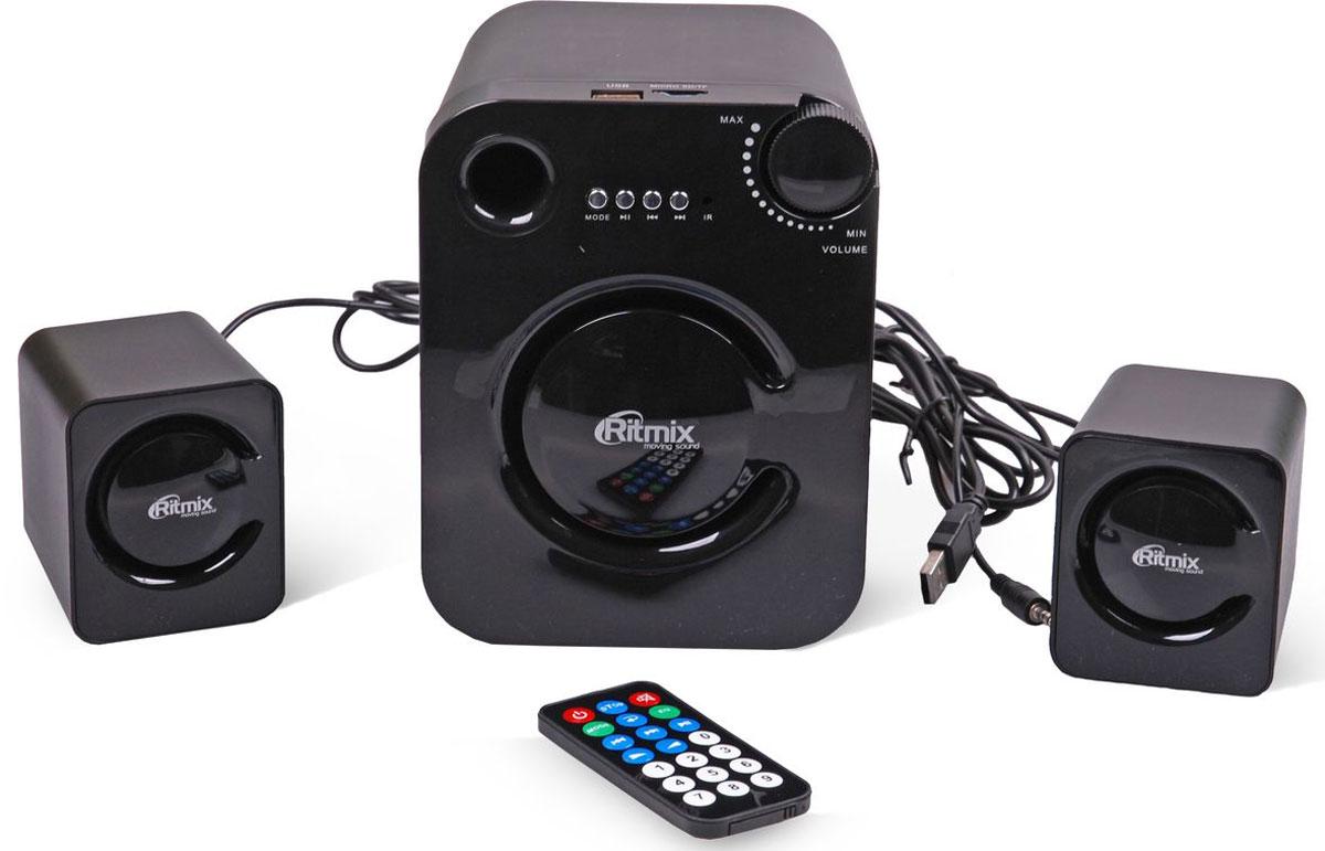 Компьютерная акустика Ritmix SP-2160BTH, Black