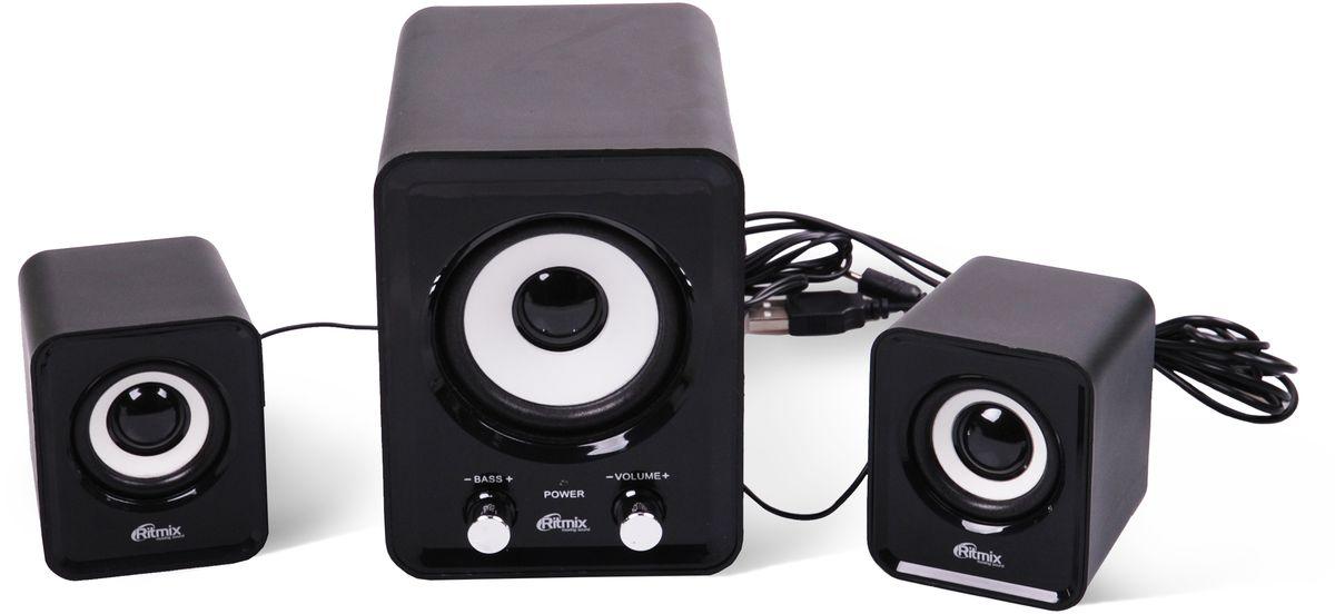 Компьютерная акустика Ritmix SP-2120, Black