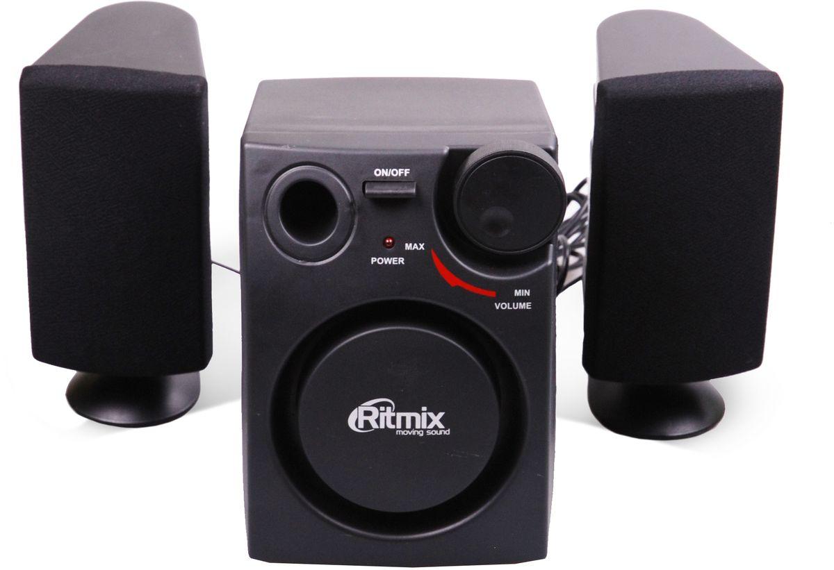 Компьютерная акустика Ritmix SP-2100, Black компьютерная акустика genius sp u120 31731057100