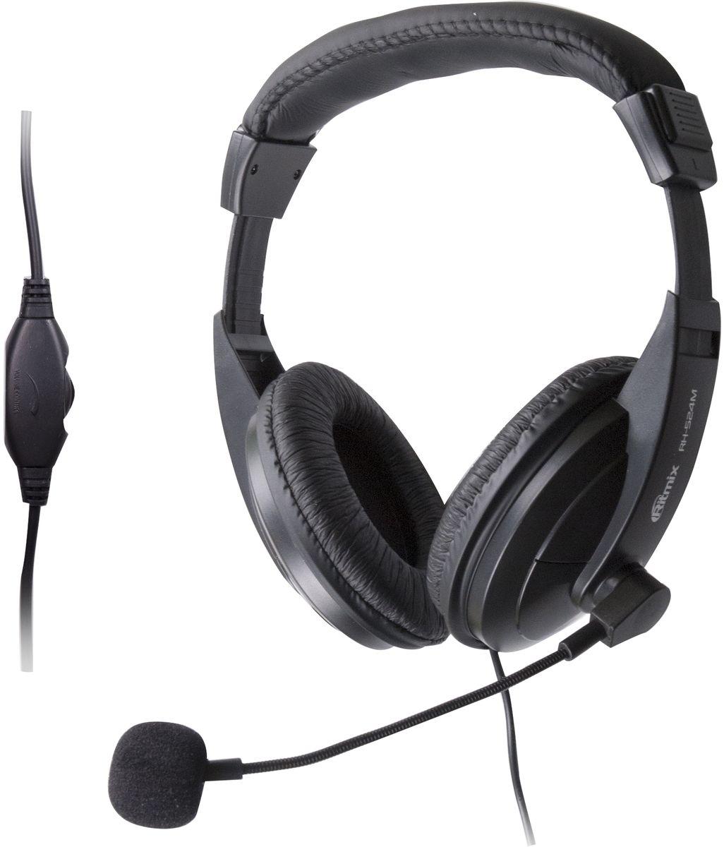 Ritmix RH-524M, Black игровые наушники цены онлайн