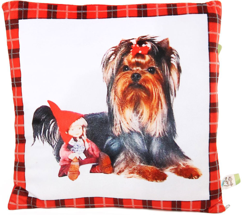 Lapa House Мягкая игрушка-подушка 30 см 56119 мягкие игрушки lapa house собака сумка 24 см