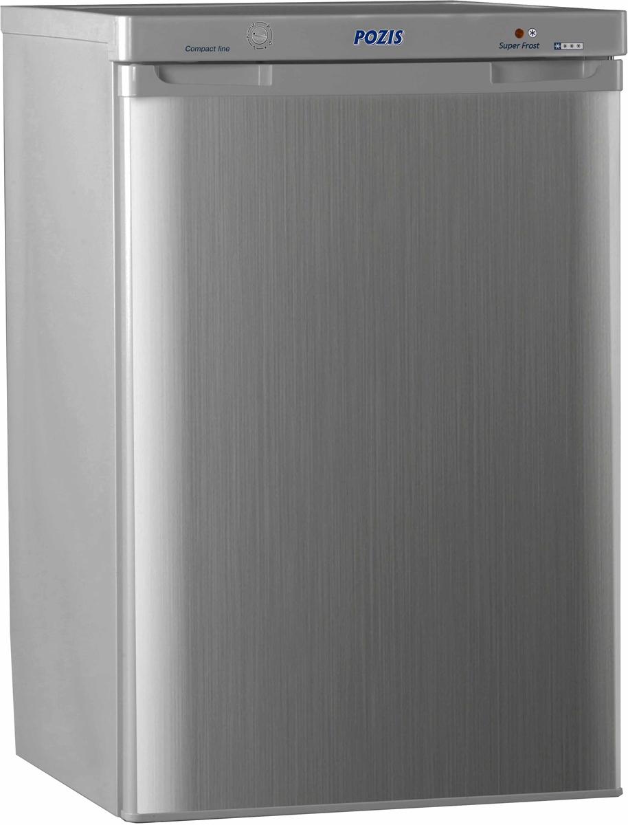 Морозильник Pozis FV-108, серебристый металлопласт