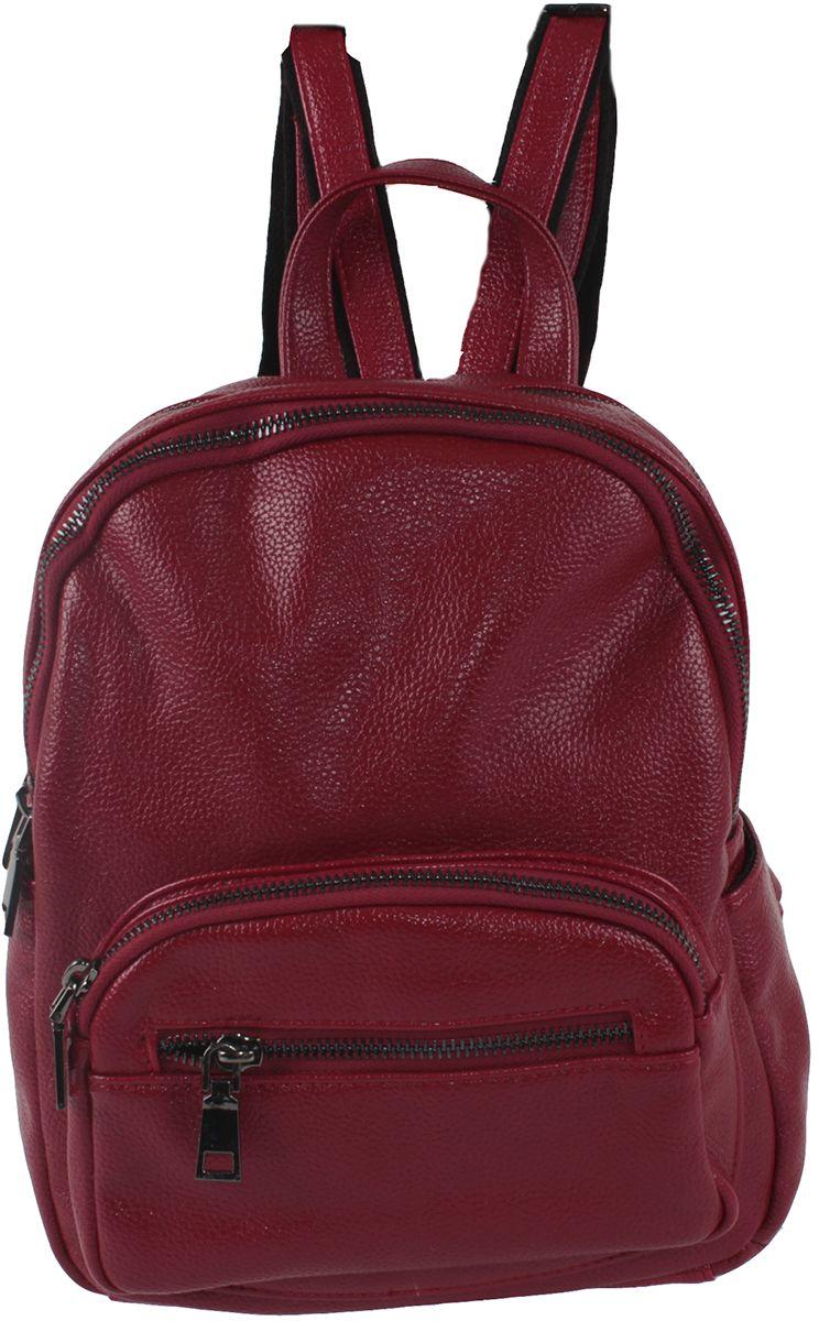 Сумка-рюкзак женская Flioraj, цвет: красный. 601-31-1605/802 рюкзак женский flioraj цвет серый 9806 1605 106