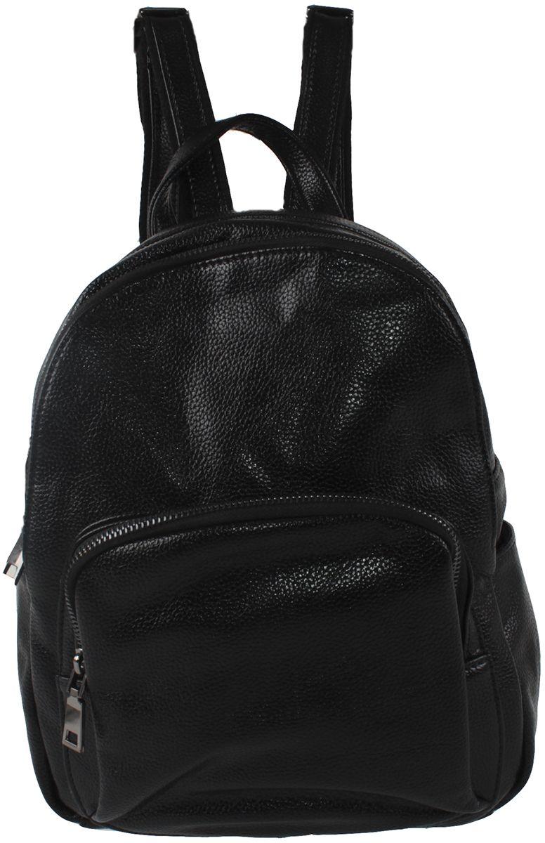 Сумка-рюкзак женская Flioraj, цвет: черный. 601-02-1605/101 fighting mac