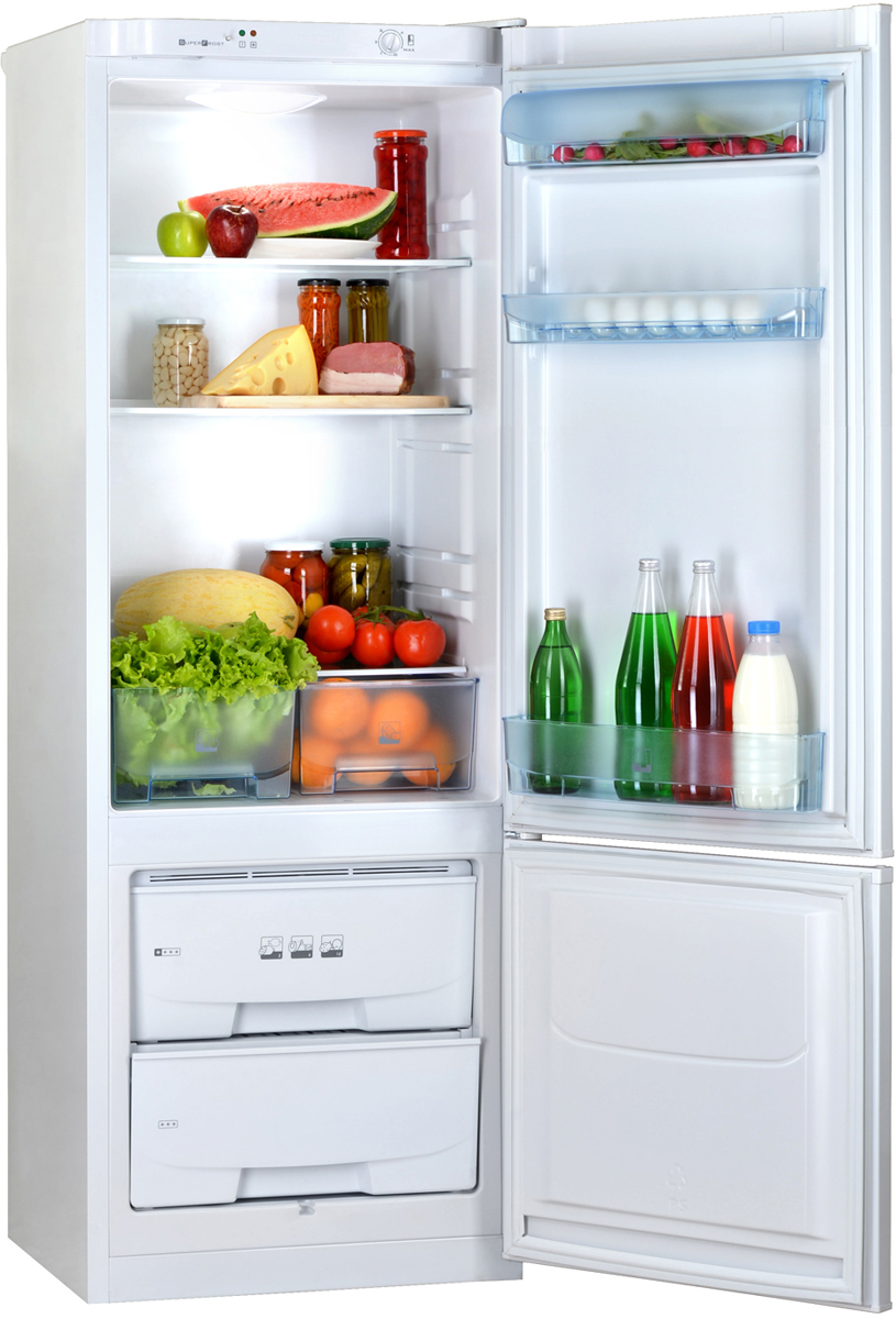 Двухкамерный холодильник Позис RK-102 бежевый Pozis