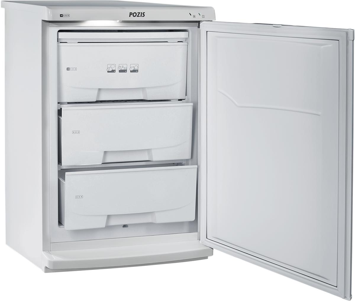 PozisСВИЯГА-109-2, White морозильник Pozis