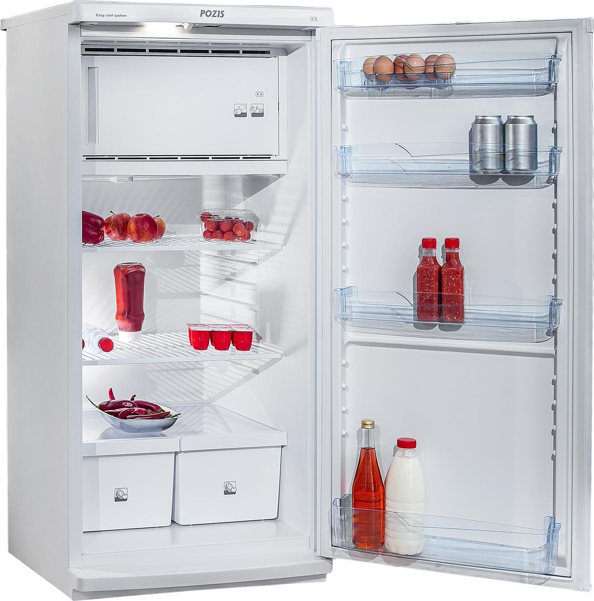 Однокамерный холодильник Позис СВИЯГА 404-1 серебристый Pozis