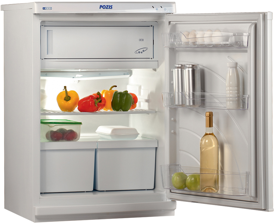 PozisСВИЯГА-410-1, Silver холодильник Pozis