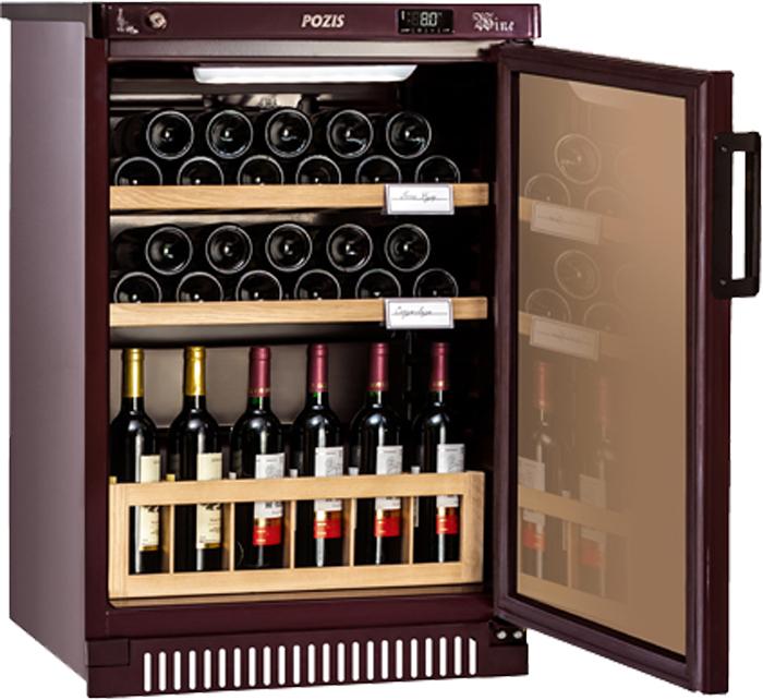 Винный шкаф Pozis ШВ-39 винный шкаф pozis швд 78 коричневый