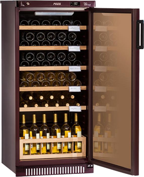 Винный шкаф Pozis ШВ-52 винный шкаф pozis швд 78 коричневый