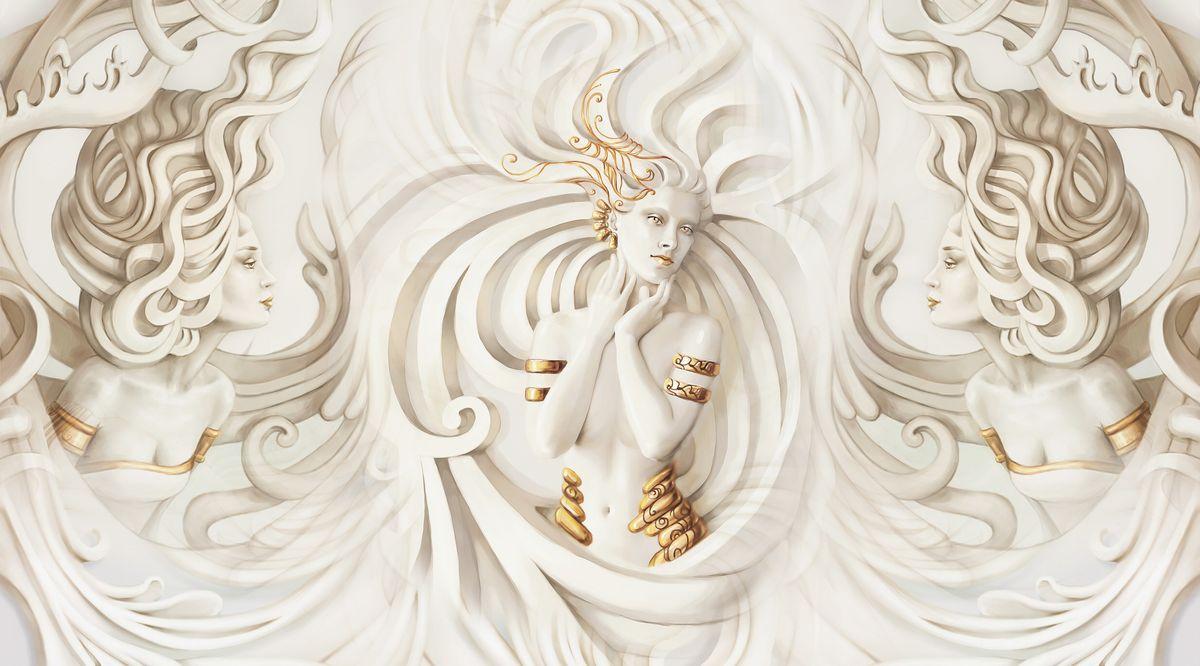 Фотообои Antimarker 3D Грация, супермоющиеся, антивандальные, 270 х 150 см пользовательские обои mural средиземноморский стиль строительство 3d фото плакат фон фото обои для гостиной ресторан