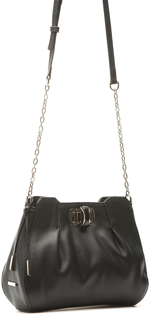 цена Сумка кросс-боди женская Eleganzza, цвет: черный. Z507-1245 онлайн в 2017 году