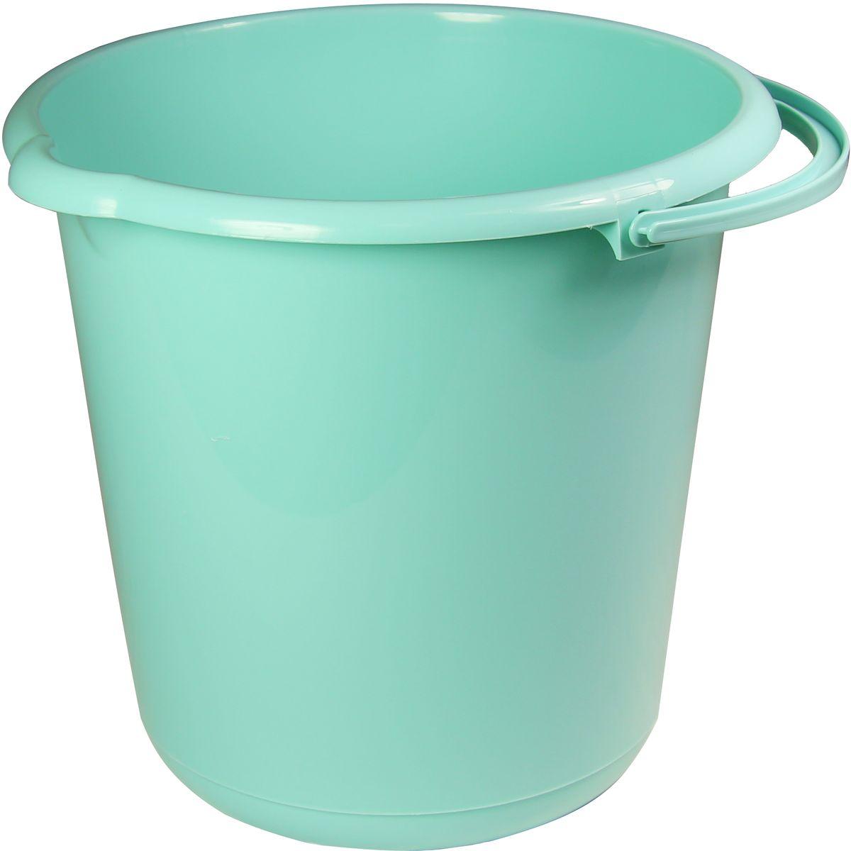 Ведро Idea, цвет: аквамарин, 10 л ведро idea цвет марморный 10 л