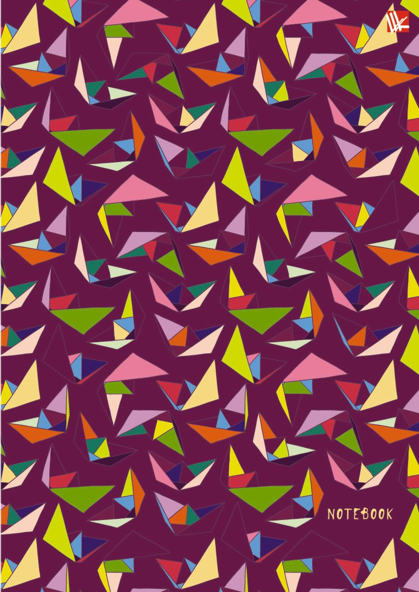 Канц-Эксмо Тетрадь Орнамент Оригами 100 листов в клетку формат А6 цена