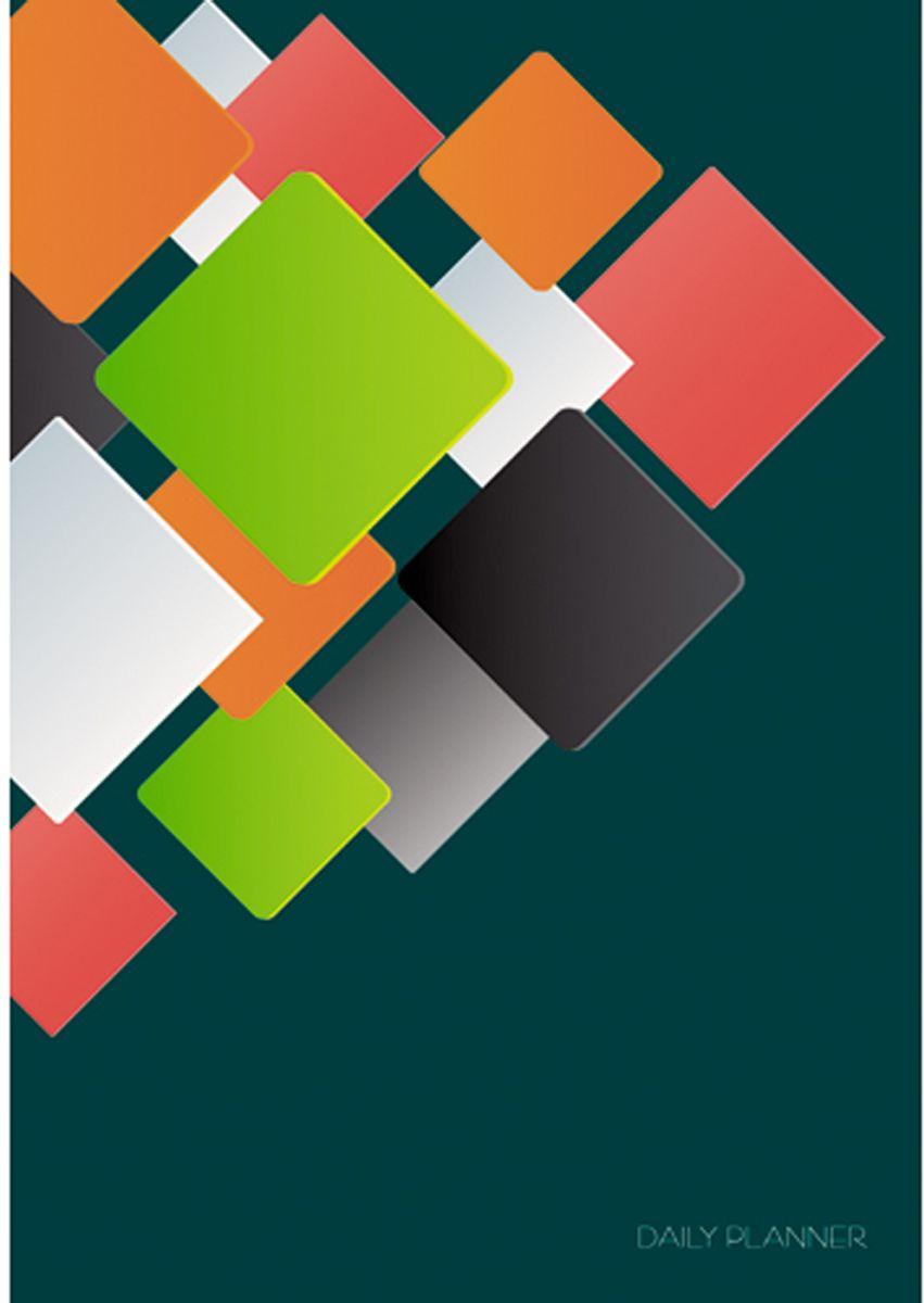Канц-Эксмо Ежедневник Офисный стиль Яркая геометрия недатированный 152 листа формат А5 недорого