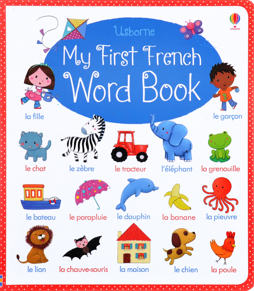 My First French Word Book все цены
