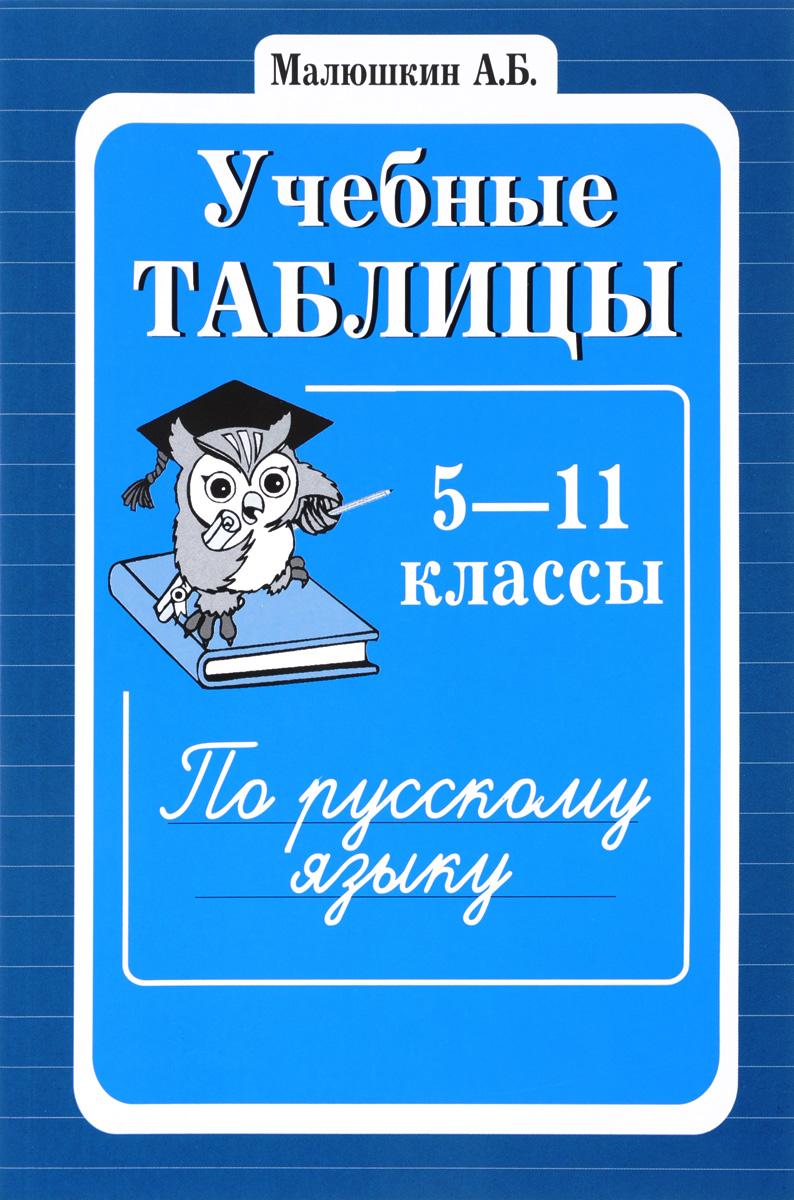 Русский язык. 5-11 классы. Учебные таблицы