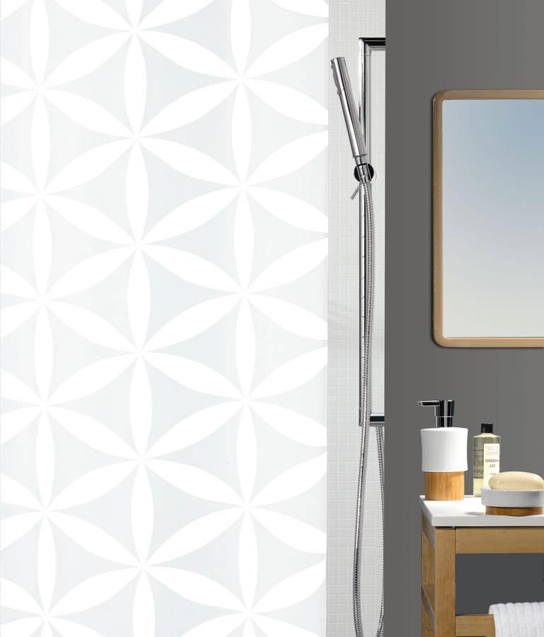 Штора для ванной комнаты Spirella Rania, 180 х 200 см цена