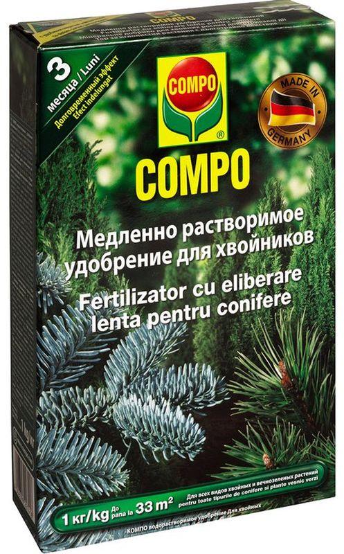 Удобрение для хвойников Compo, 1 кг удобрение для газона compo 2 кг