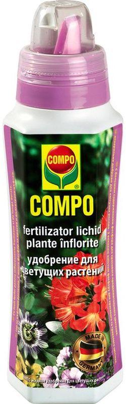 Удобрение для цветущих растений Compo, 500 мл удобрение палочки для зеленолистных растений покон