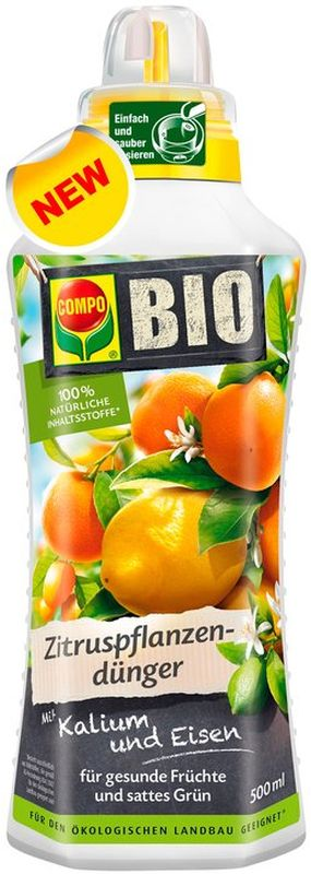 Удобрение для цитрусовых Compo, 500 мл удобрение для цветущих растений compo 500 мл
