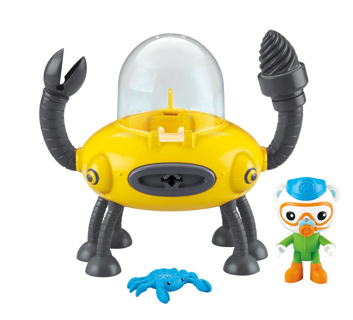 Octonauts Игровой набор Клешня и подводная лодка Gup-D chapmei игровой набор нано армия подводная лодка с наполнением
