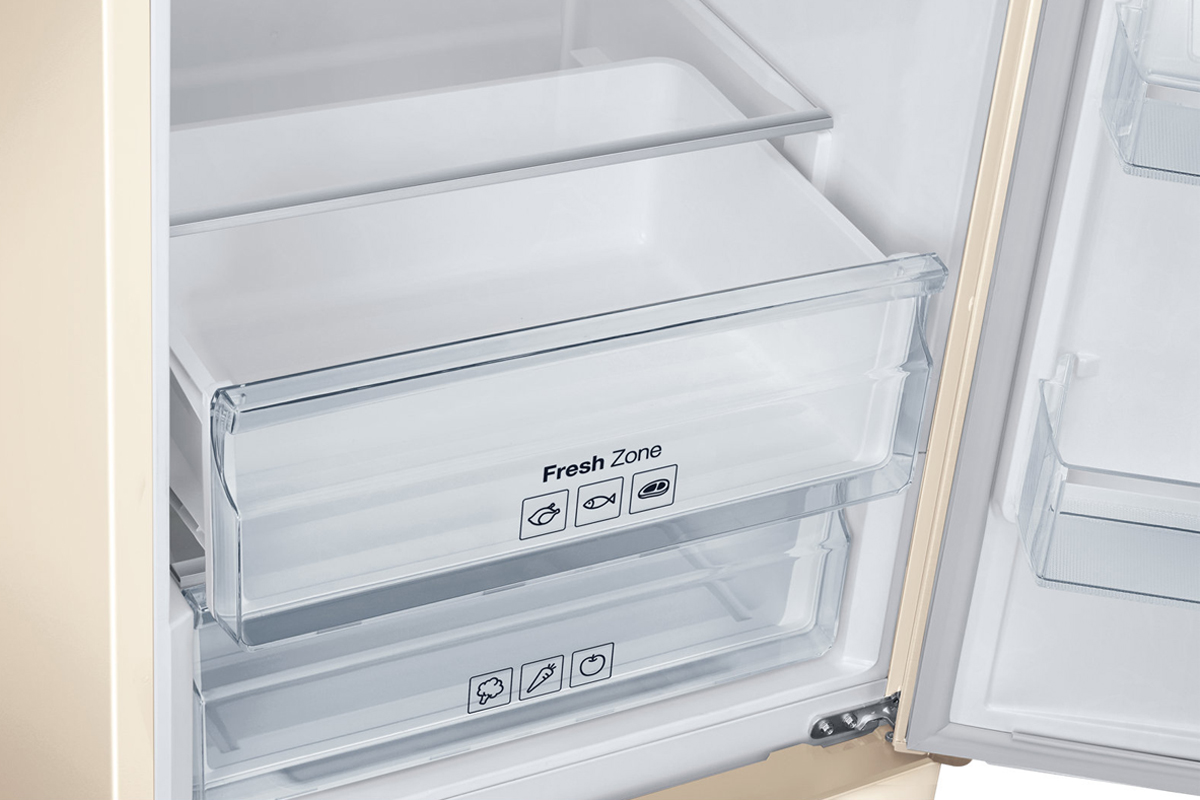 Двухкамерный холодильник Samsung RB37J5240EF, бежевый Samsung