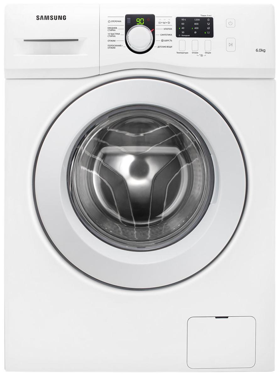 Samsung WF-60F1R0F2W стиральная машина inomata feeling серии импортных кухонь с присосками для губчатых стоек посудомоечные машины потолки для утечки воды полки оранжевые