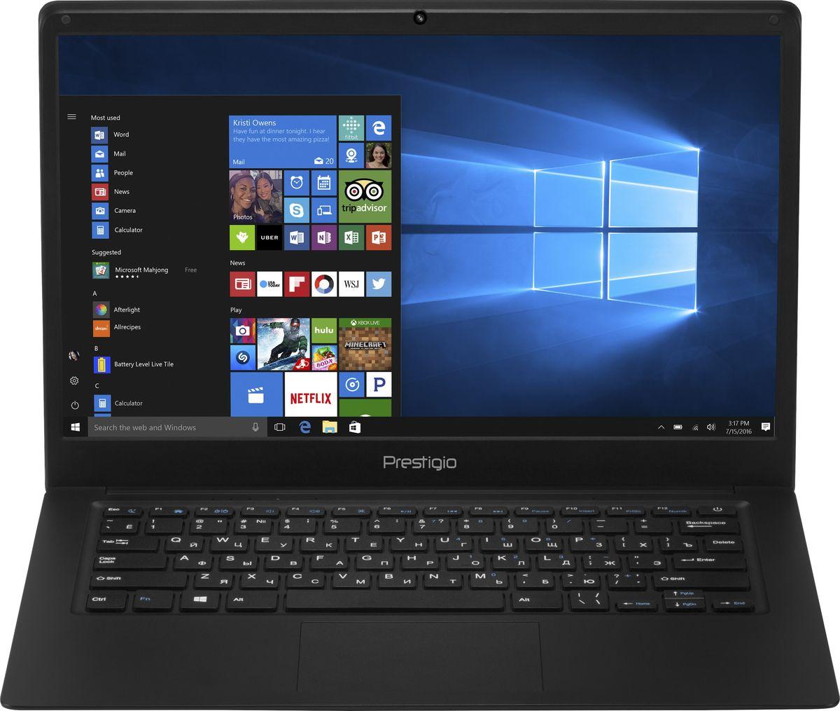 """Ноутбук Prestigio SmartBook 141C, PSB141C01BFH_BK_CIS, 14.1"""", черный"""