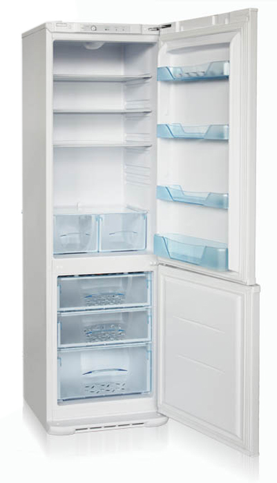 Холодильник Бирюса Б-M127, двухкамерный, металлик Бирюса