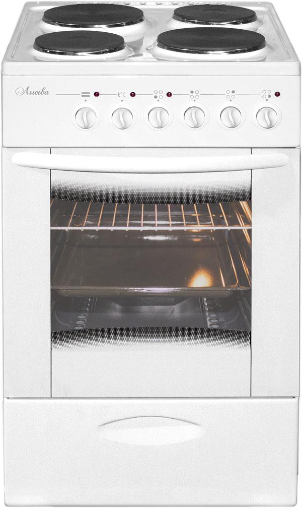 Лысьва ЭП 402 МС, White плита электрическая (без крышки)