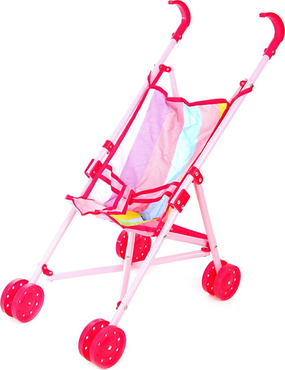 Ami&Co Коляска для кукол цвет розовый белый 58968