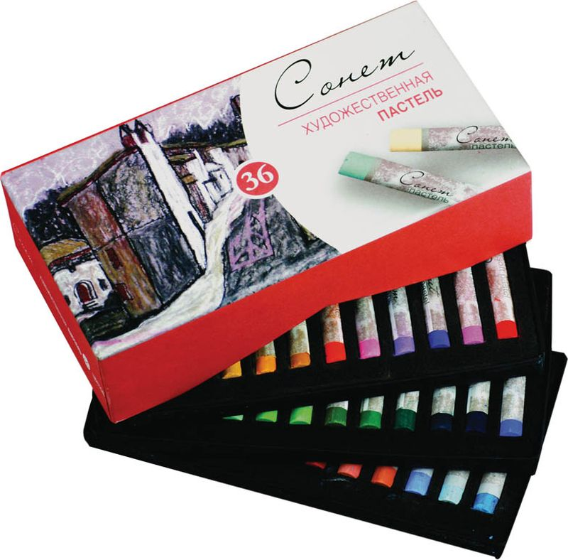 ЗХК Пастель художественная Сонет 36 цветов