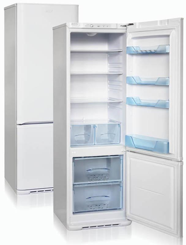 Холодильник Бирюса 132, двухкамерный, белый холодильник
