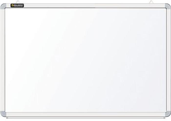Brauberg Доска магнитно-маркерная 45 х 60 см 231713235519Доска идеально подойдет для проведения тренингов, совещаний и презентаций. Белое лаковое покрытие предназначено для письма специальными маркерами для белой доски. Металлическая поверхность позволяет размещать объявления при помощи магнитов.